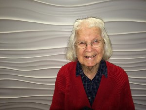 Sue's mom, Mae - going strong at 93!