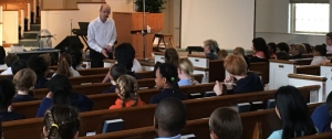 Conducting chapel services are an important part of the ministry God has provided